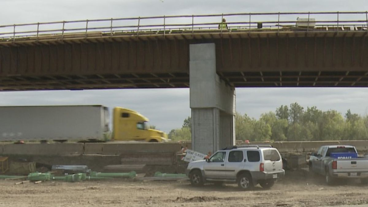 It's been about a year since construction has started on the Highway 69/75 project in Calera.