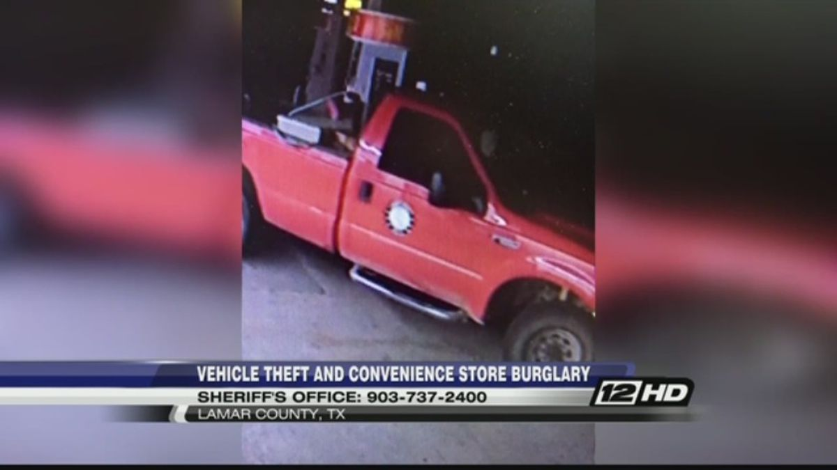 Lamar County Sheriff's Office searches for thieves