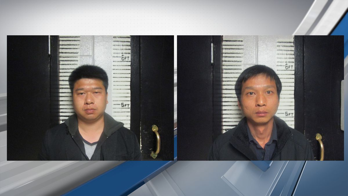 Two men were arrested for assault at weed farm in Garvin Co.