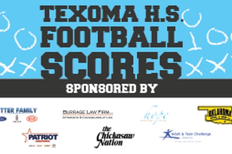 Texoma HS Football Scores