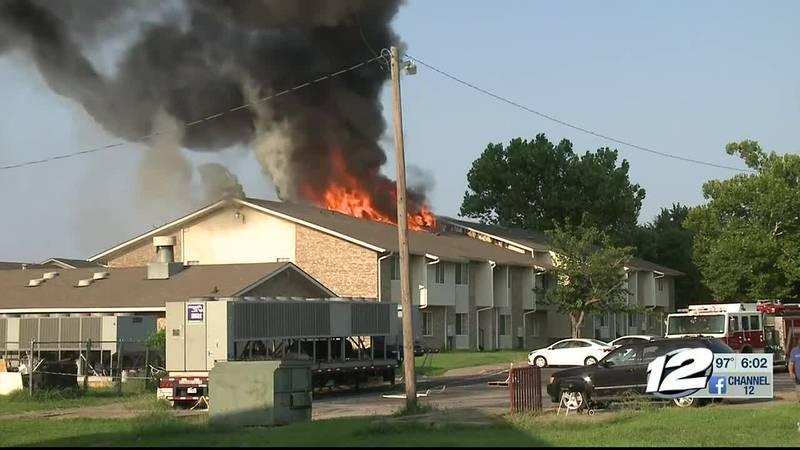 Victim identified in Hilltop Village apartment fire
