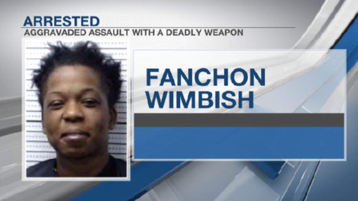 Fanchon Wimbish was arrested in a stabbing at a Sherman apartment complex Sunday.