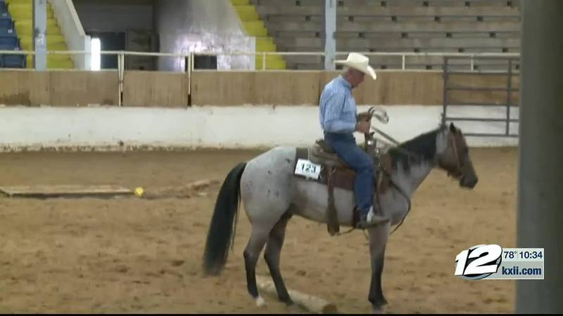 The Dal-Worth Appaloosa Horse Club concluded their summer show in Ardmore Sunday evening.