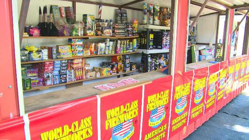 Local fireworks stands say the shortage may have you paying more for your favorite products, if...