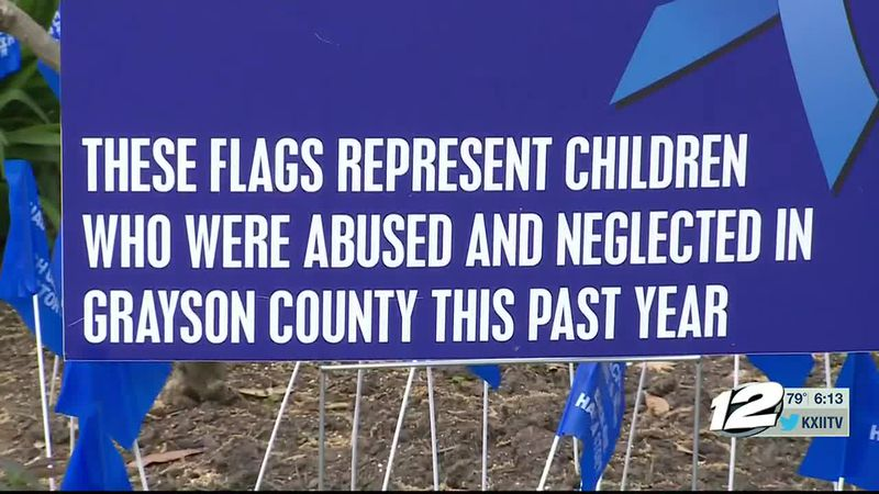 Grayson County officials proclaimed April as Child Abuse Awareness and Prevention month.