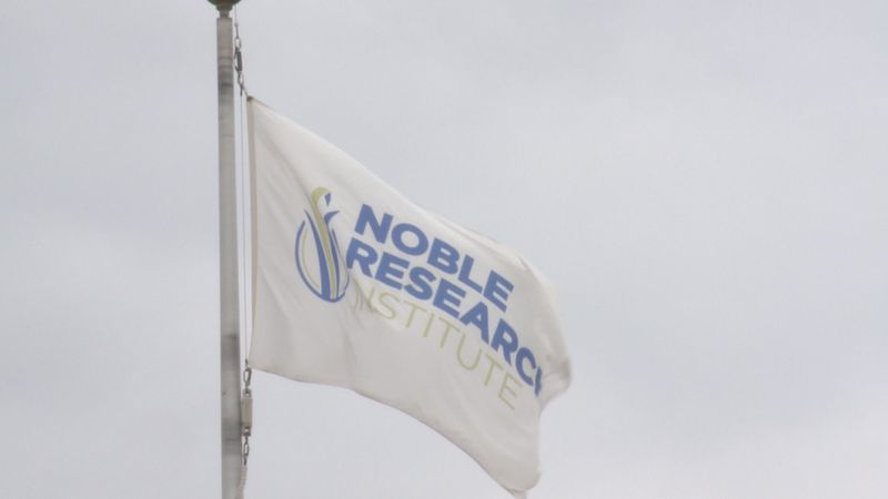 The Noble Research Institute in Ardmore is donating 11 freezers to the Oklahoma State...
