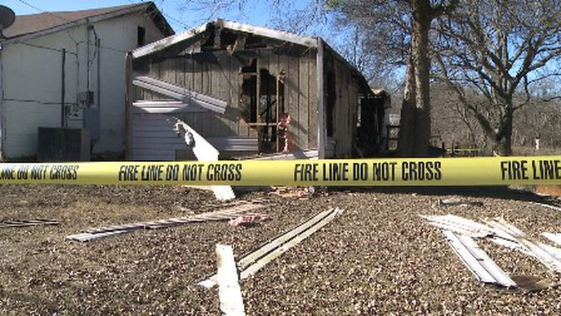 Two people are dead after their home went up in flames early Monday morning.